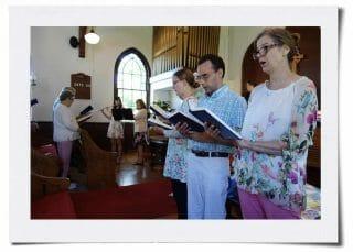 Sunday Worship - Mary and Sharon with informal choir